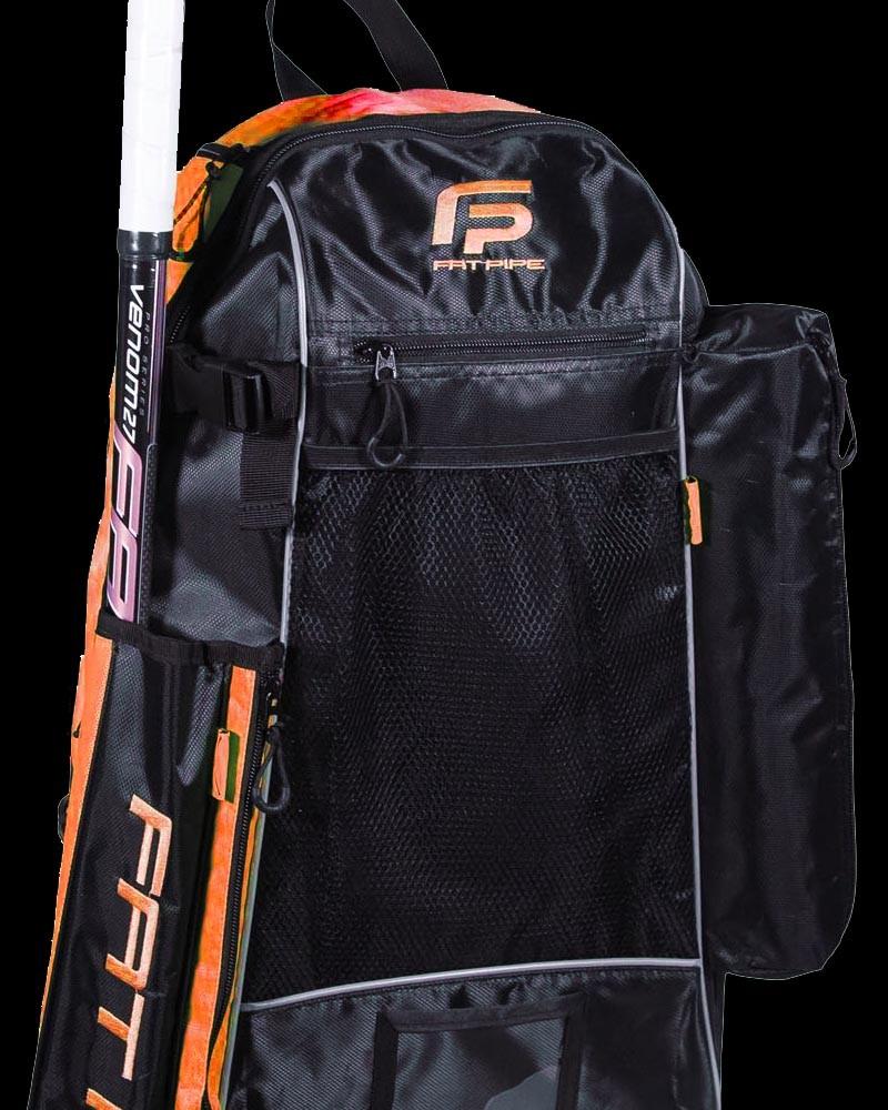Fatpipe Stick Backpack black/orange