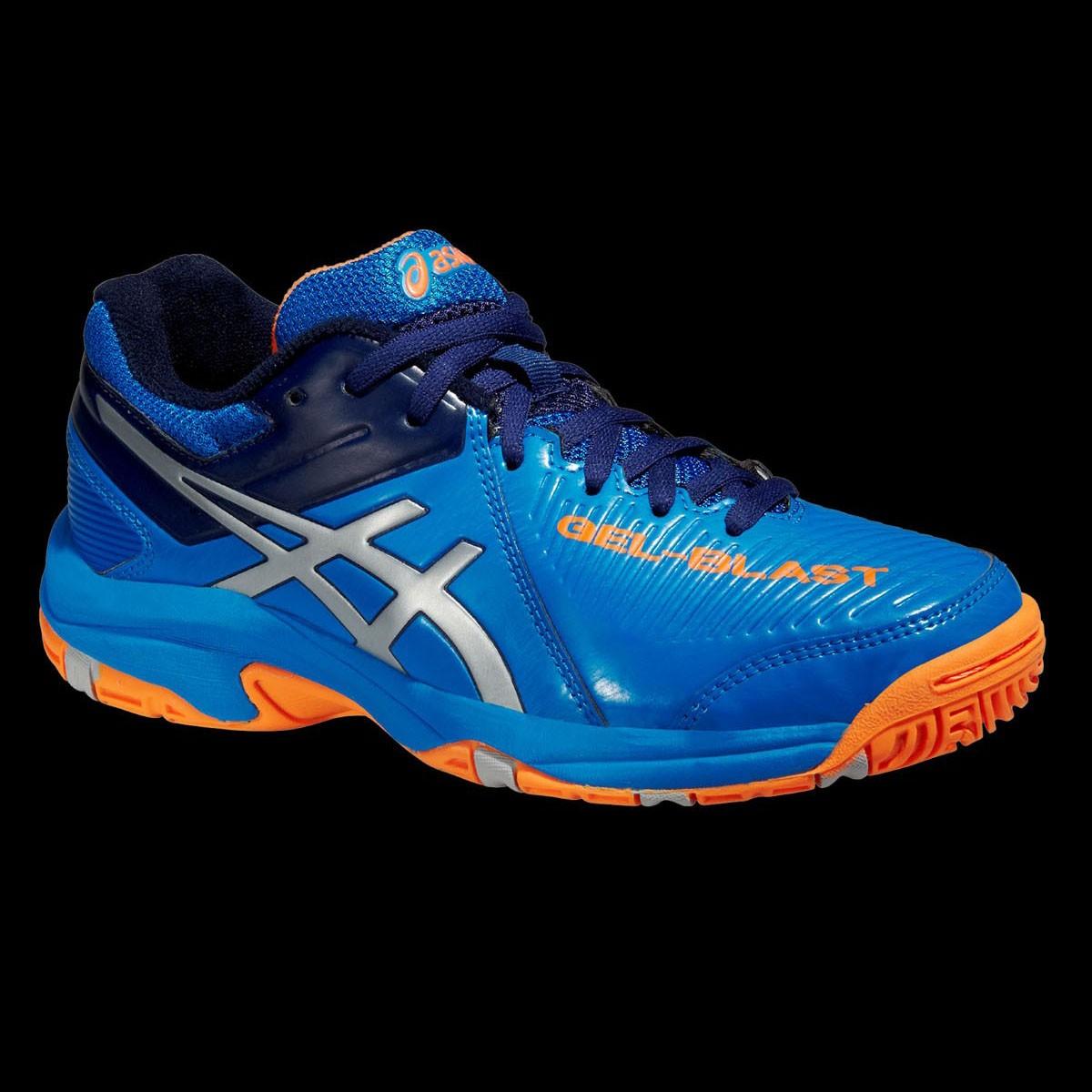 asics GEL-BLAST 6 GS Kids electric blue/orange