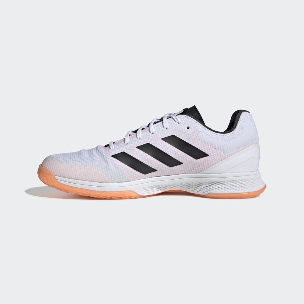 Hola Bibliografía Precaución  Adidas Counterblast Bounce white/orange - Indoor Men - Adidas - Chaussures    unihockeyshop.ch