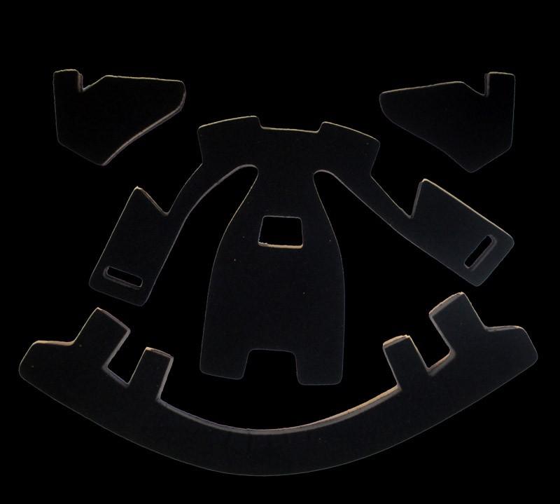 unihoc Set de coussins intérieurs de rechange Standard (pour masque Summit 44)