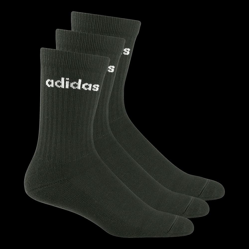 Adidas Half-Cushioned Crew Socks black (3-Pack)