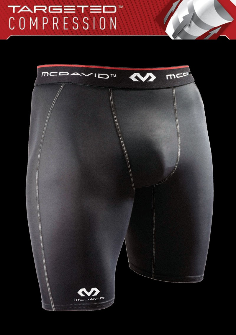 Mc David Compression Short Deluxe black