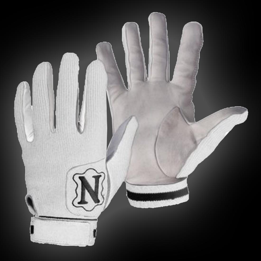 Gants de gardien Neumann blanc