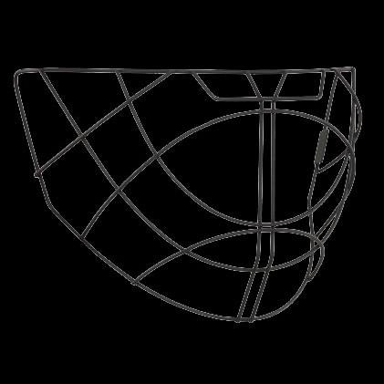 Salming grille de rechange pour masque Elite noir