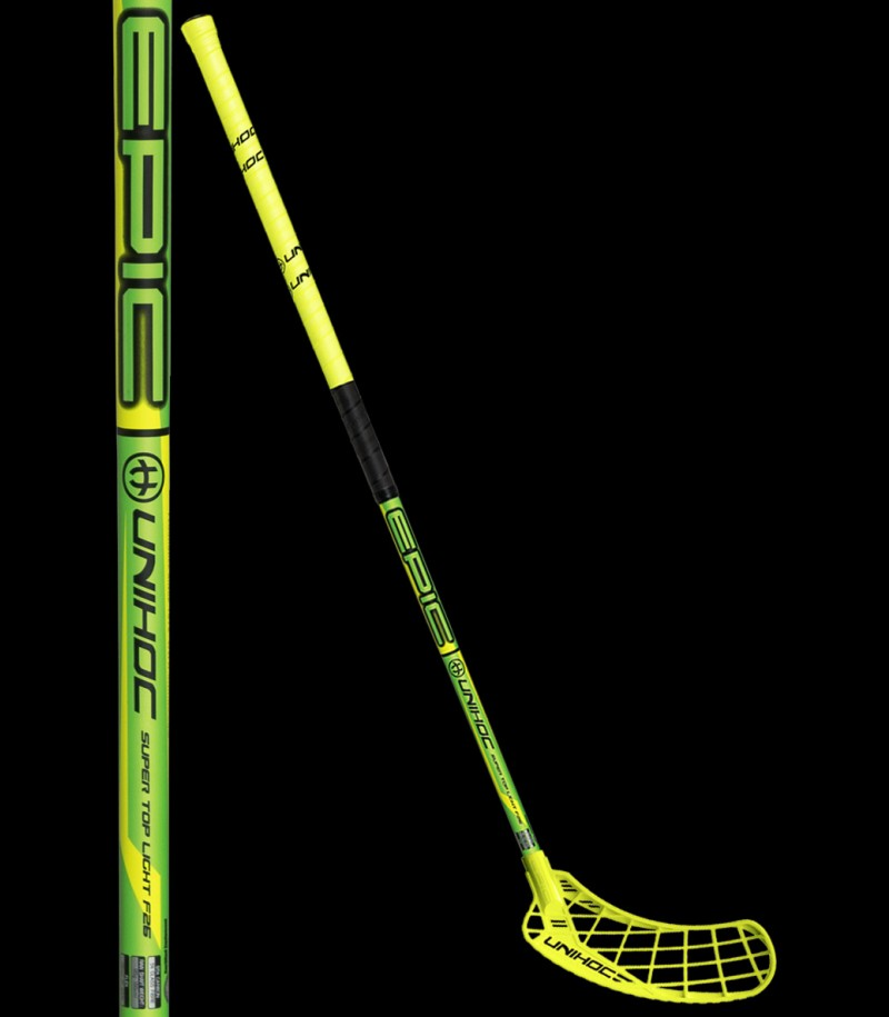 unihoc EPIC Super Top Light 26 NEON EDITION