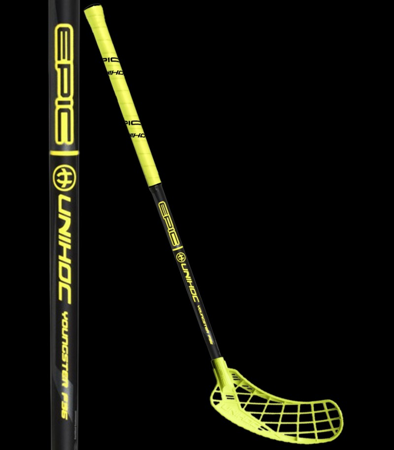 unihoc EPIC Youngster 36 jaune/noir