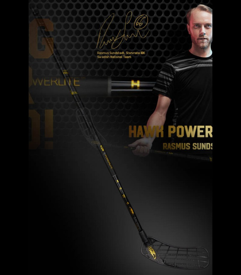 Salming Hawk Powerlite KickZone 27 Rasmus Sundstedt Edition