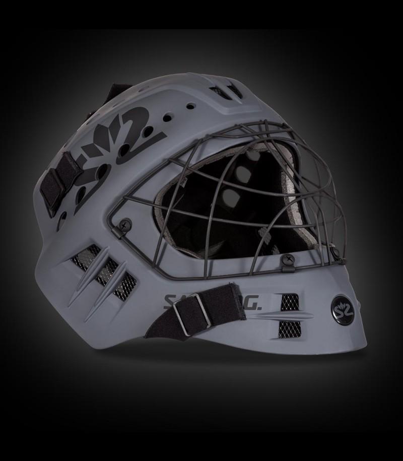 Salming masque de gardien Phoenix Elite white/grey