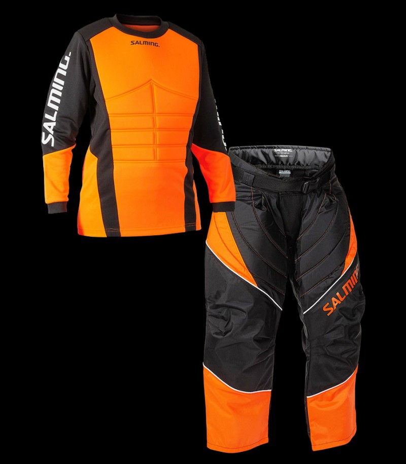 Salming Set de gardien Atlas noir/orange