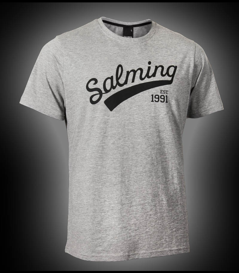 Salming Logo Tee grey