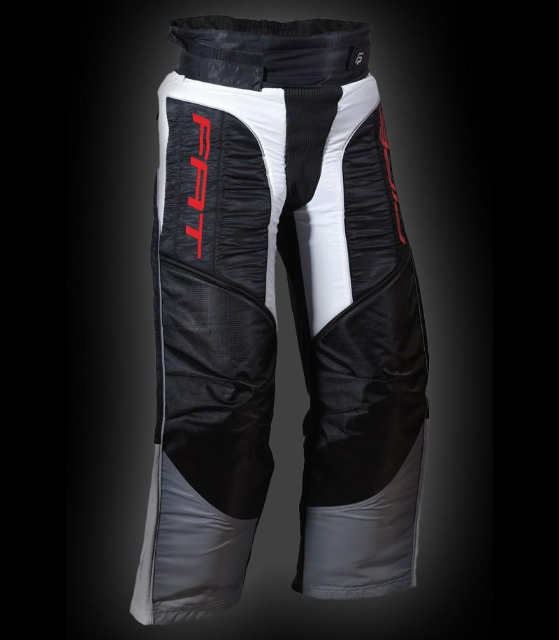 Fatpipe Pantalon de gardien Junior noir/rouge