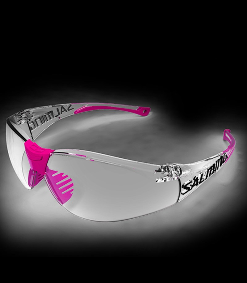 Salming Lunette de protection Split Vision Junior magenta
