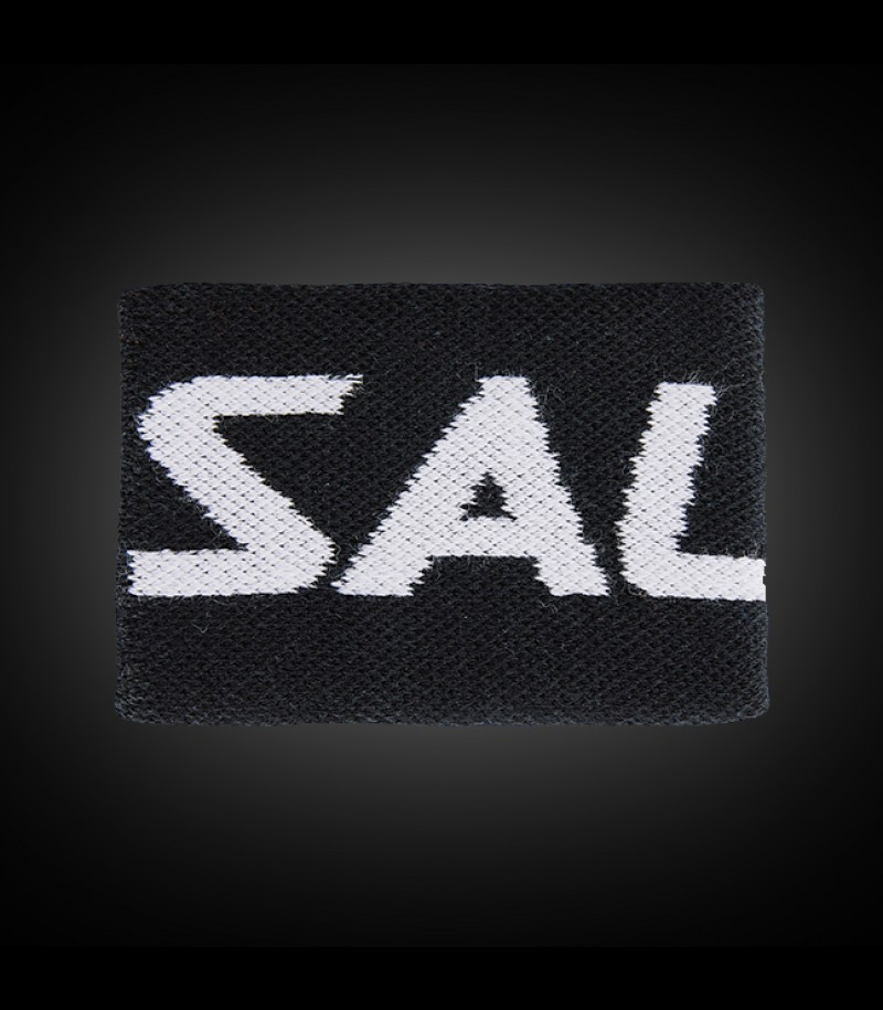 Salming Wristband Mid dark grey/white