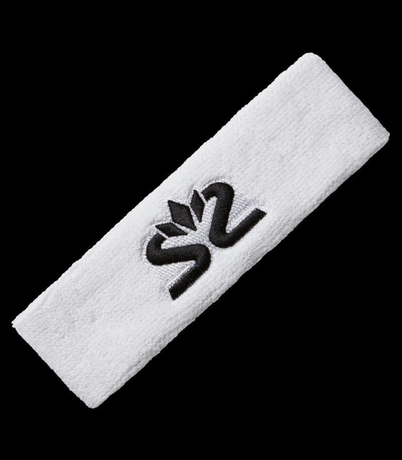 Salming Knitted Headband white/black
