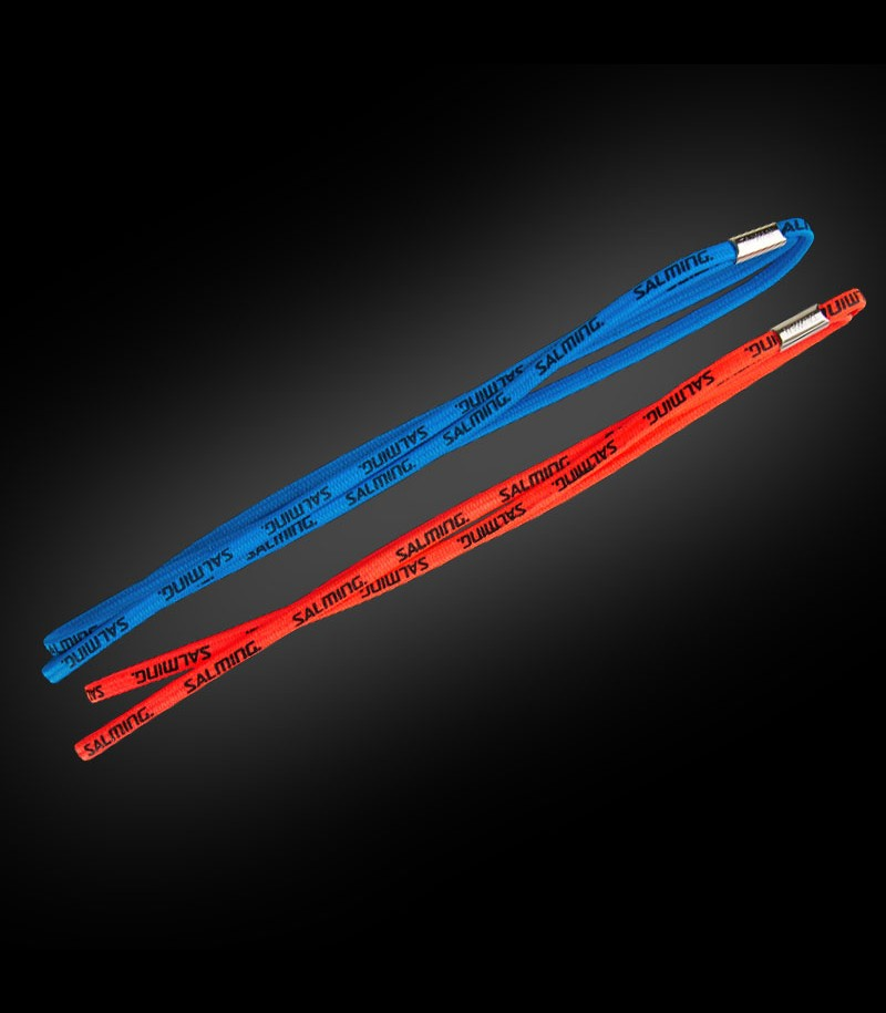 Salming Twin Hairband coral/blue (2-Pack)