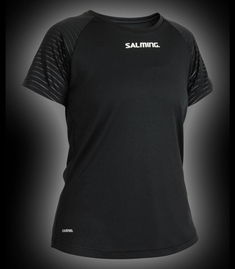 Salming Diamond Tee Women black