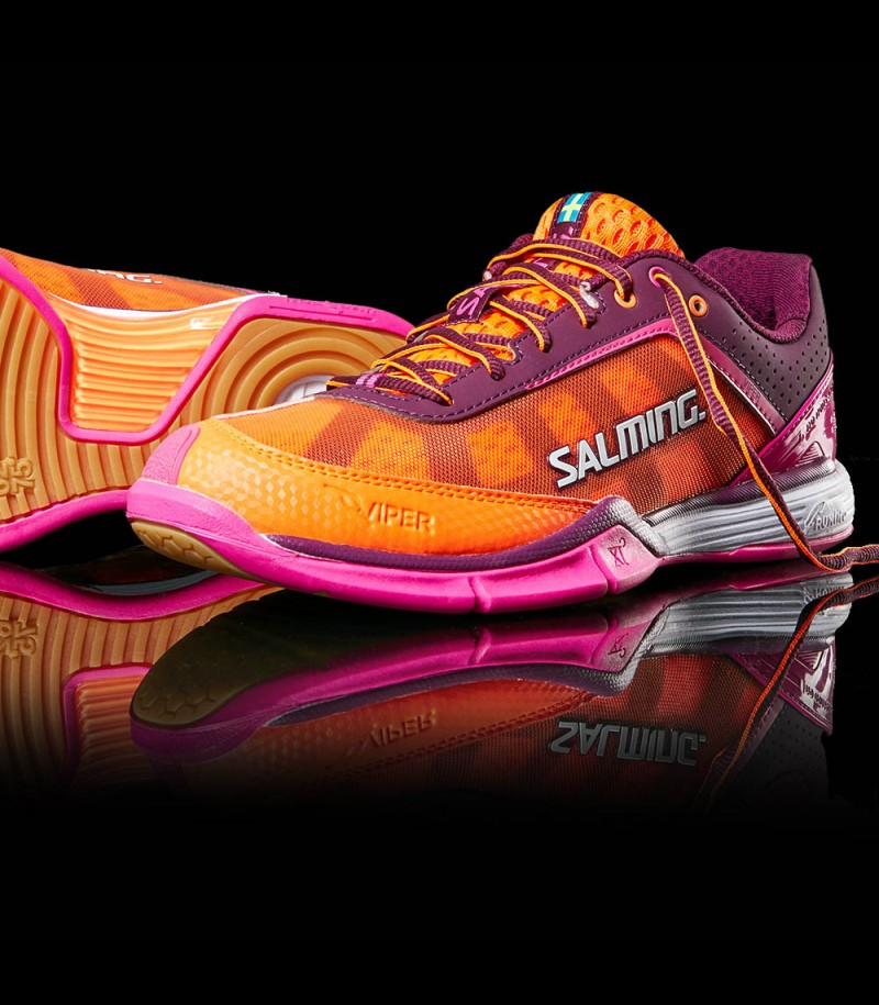unihockeyshop_Salming Viper Women purple/orange