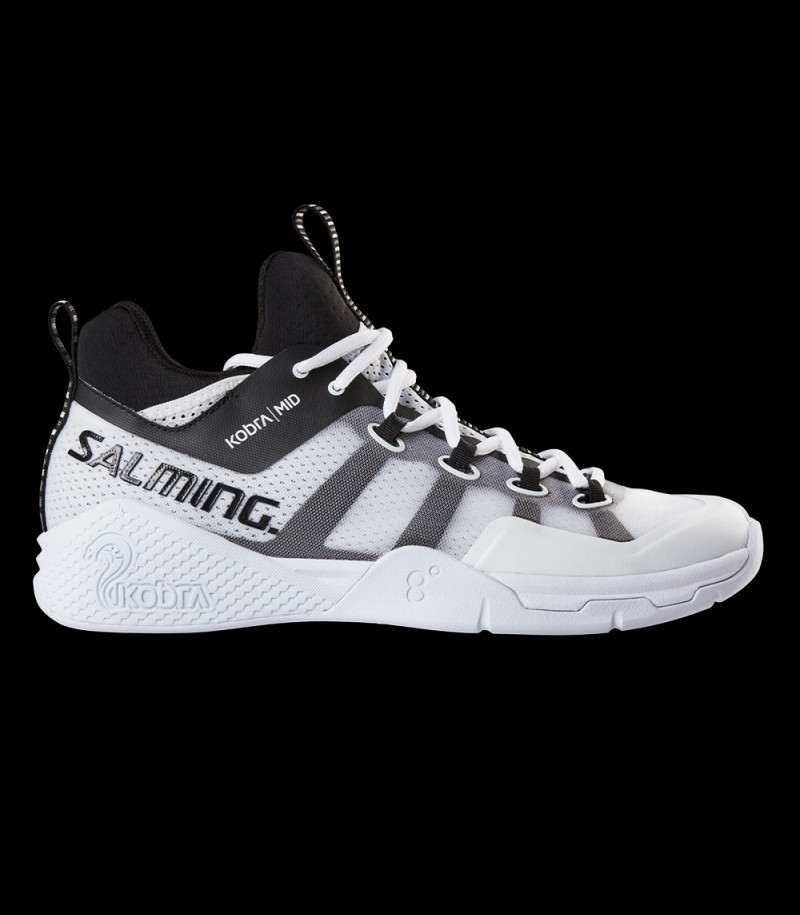 Salming Kobra Mid 2 Men white/black