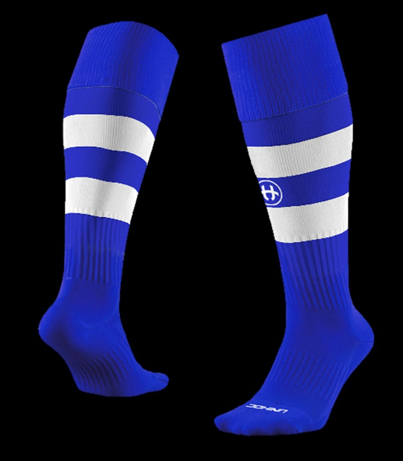 unihoc Chaussettes Control bleu