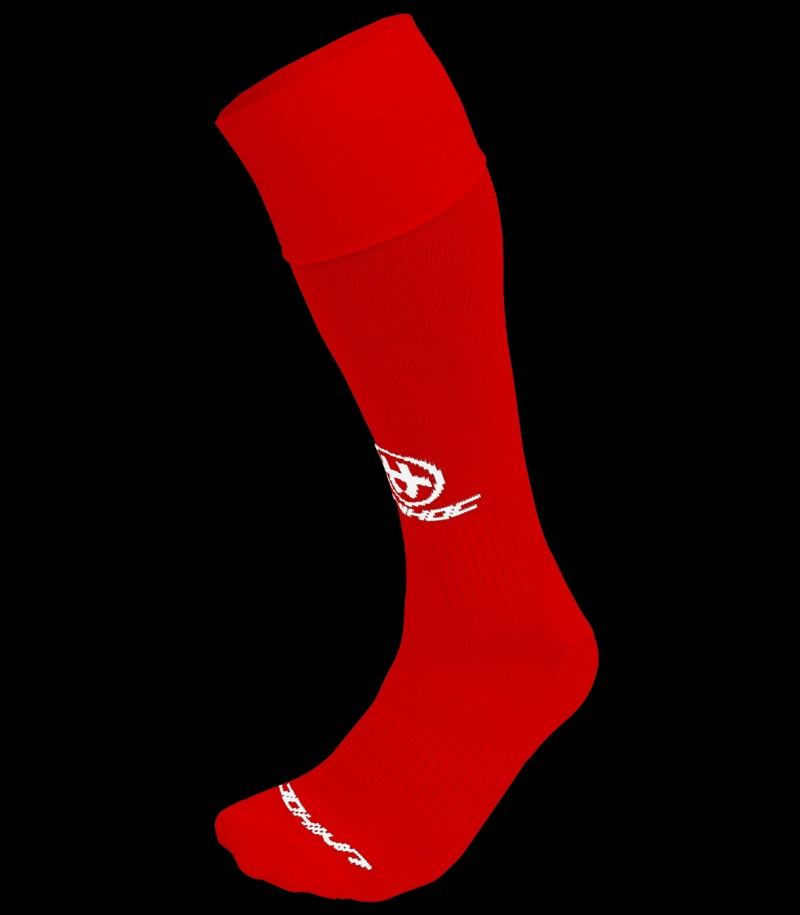 unihoc Chaussettes Success rouge