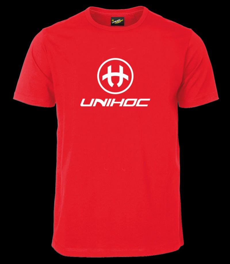 unihoc T-Shirt Storm rouge