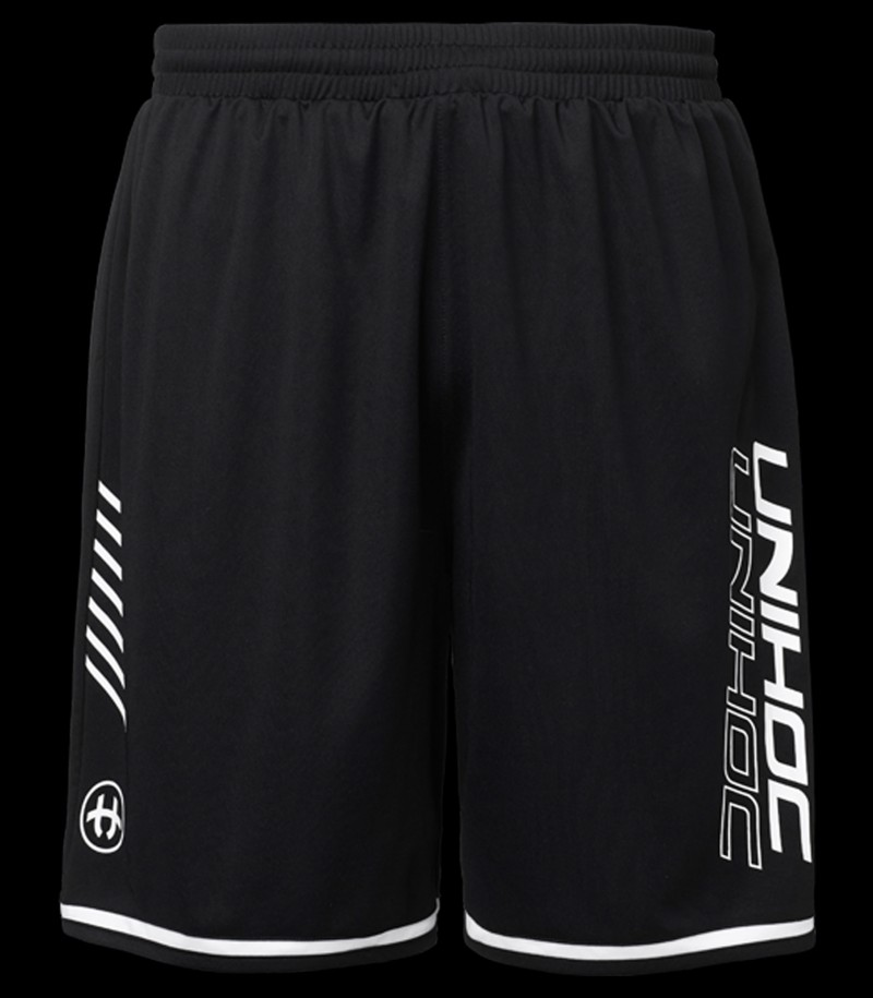 unihoc Shorts Vendetta noir-blanc