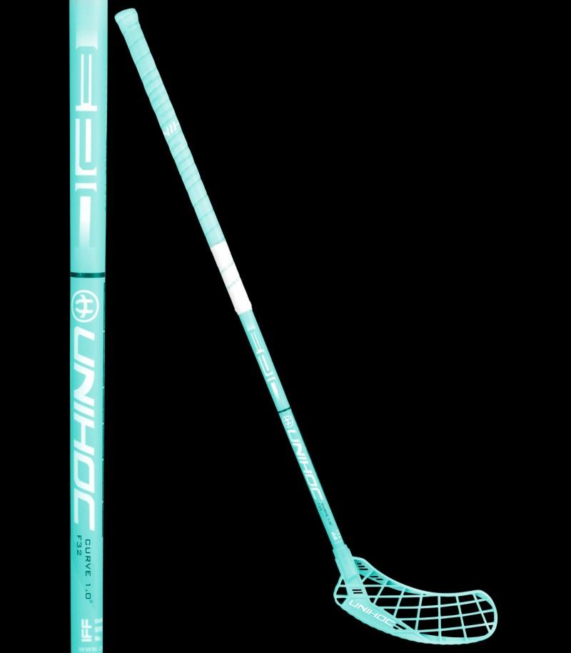 unihoc EPIC Curve 1.0° 32 tourquoise