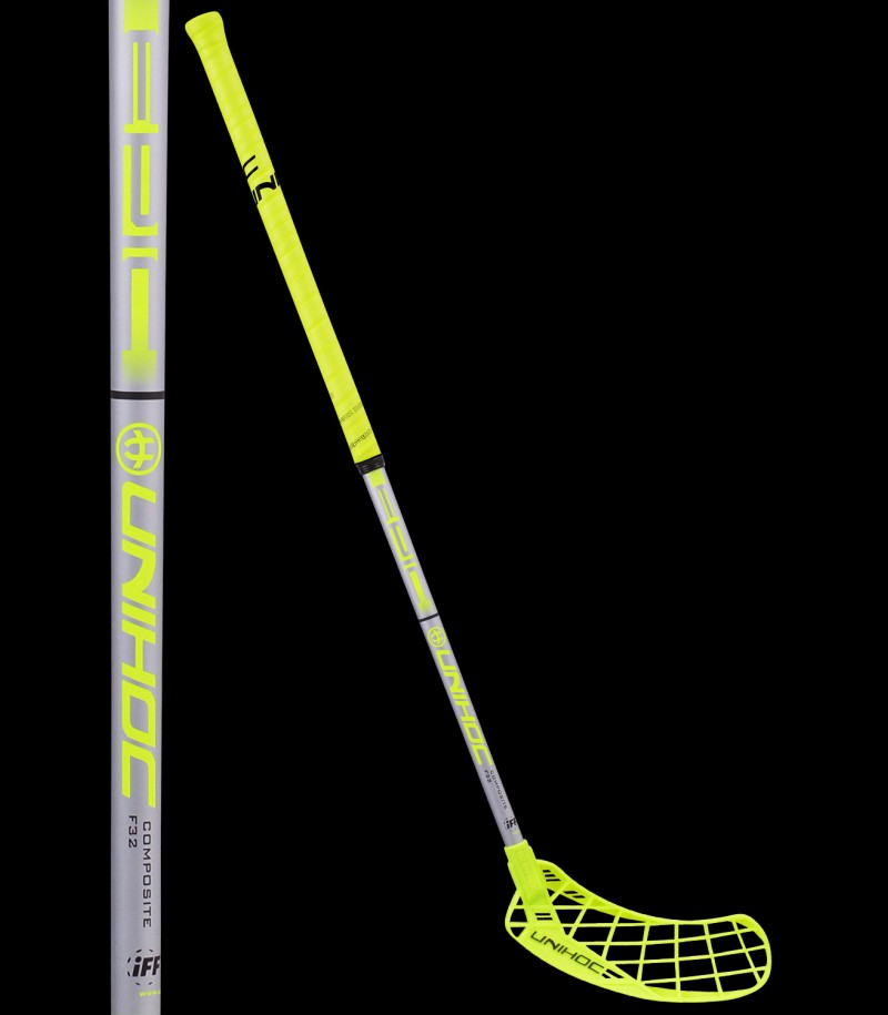 unihoc EPIC Composite 32 yellow/silver