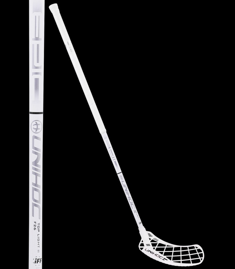 unihoc EPIC Toplight II 26 white/silver