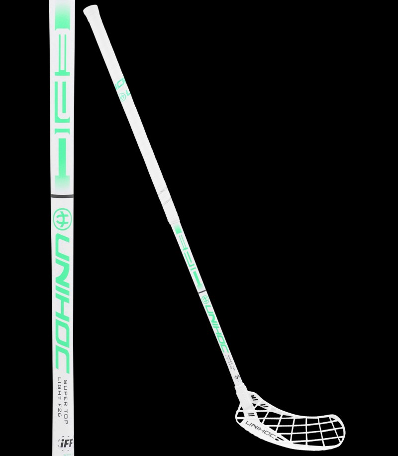 unihoc EPIC Super Top Light 26 white/green