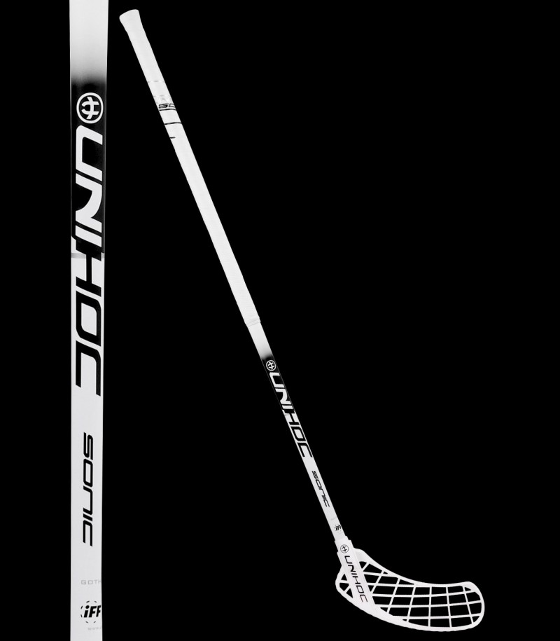 Canne de test unihoc SONIC Super Top Light 26 white/black