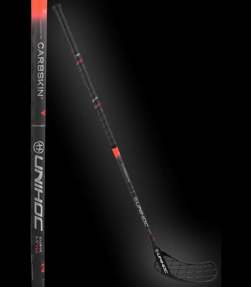 unihoc SONIC Carbskin Curve 2.0 26 black/red