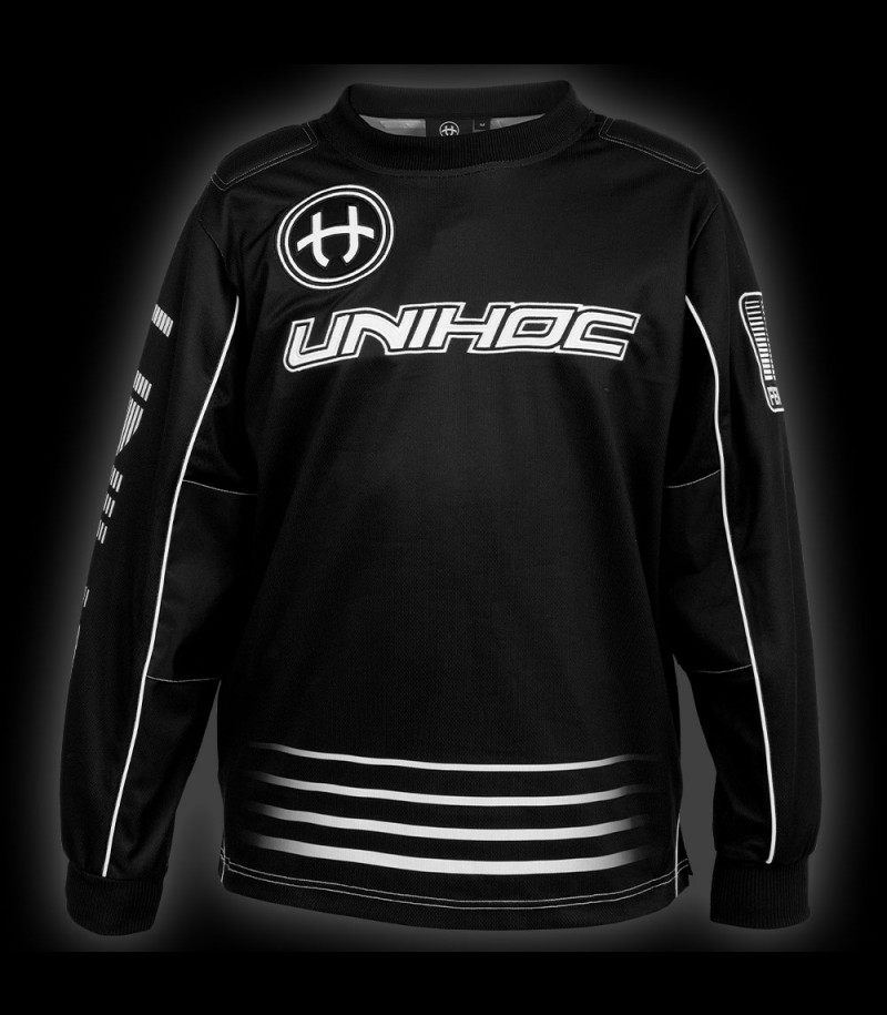 unihoc Goalietop Inferno Junior noir