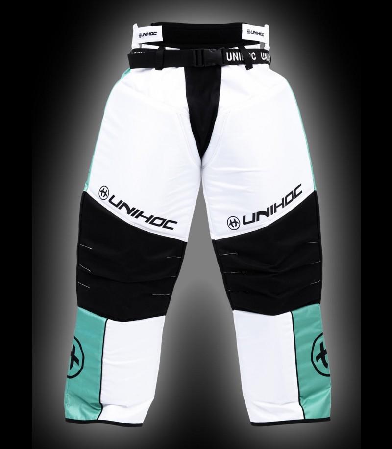 unihoc Pantalon de gardien Keeper Junior turquoise/blanc