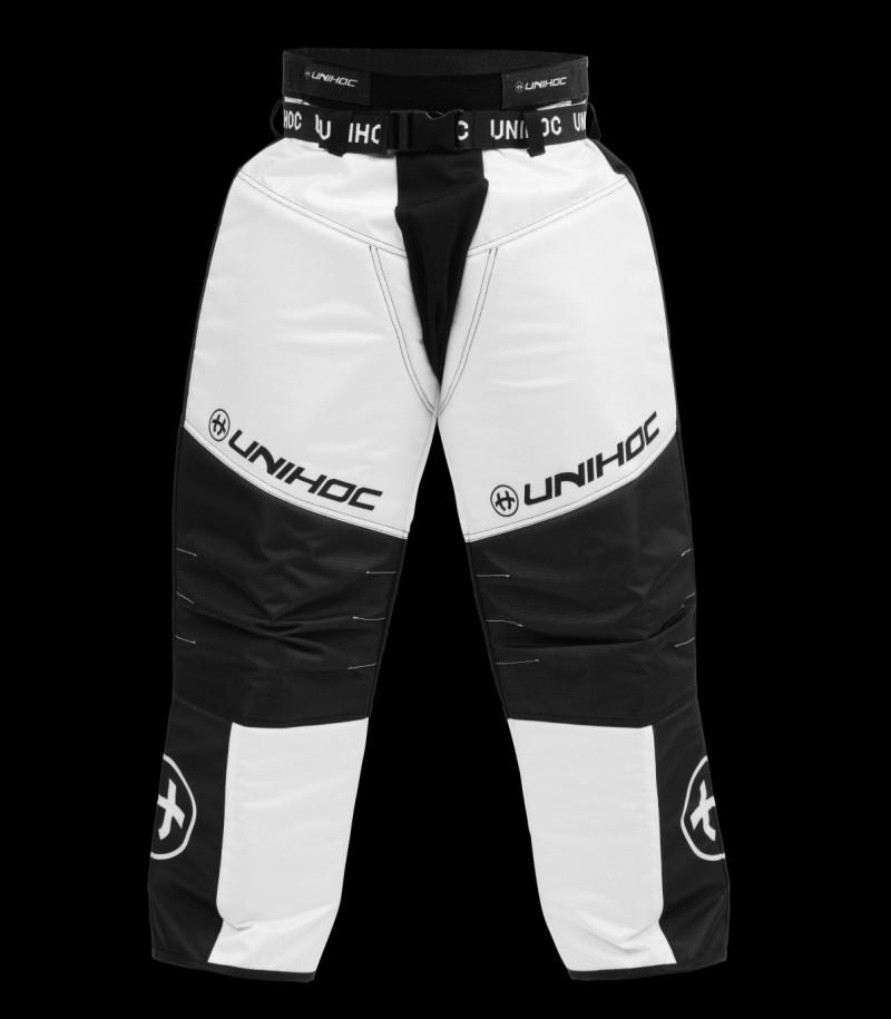unihoc Pantalon de gardien Keeper Senior noir/blanc