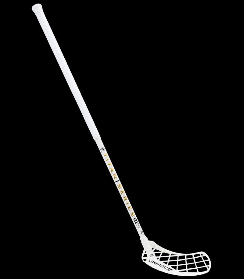 unihoc RE7 EPIC TITAN Superskin Pro 27 white/gold
