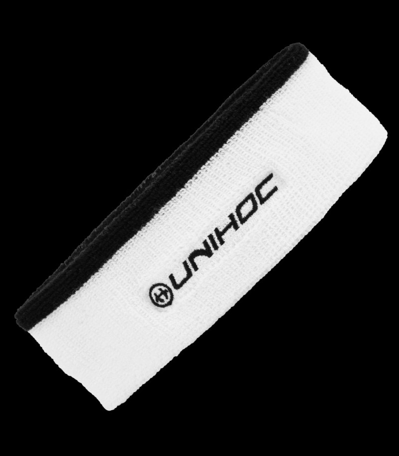 unihoc Headband Sweat mid white