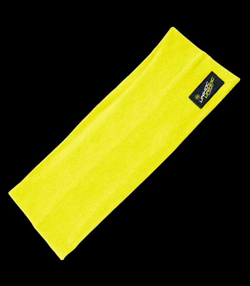 unihoc Bandeau Omega large jaune-néon