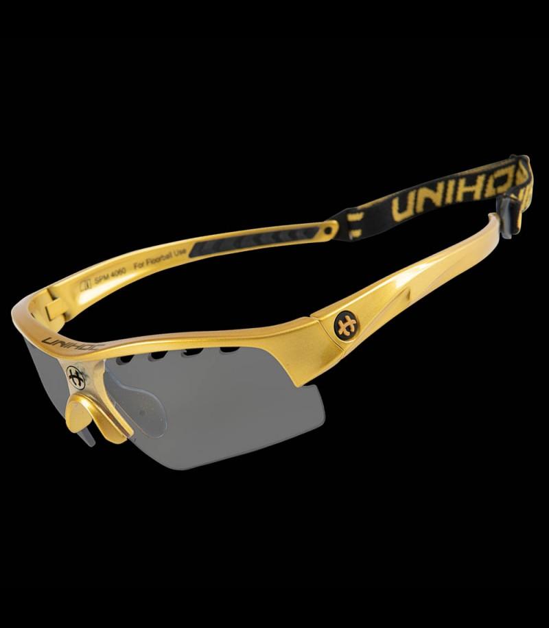 unihoc lunettes de sport Victory Kids d'or