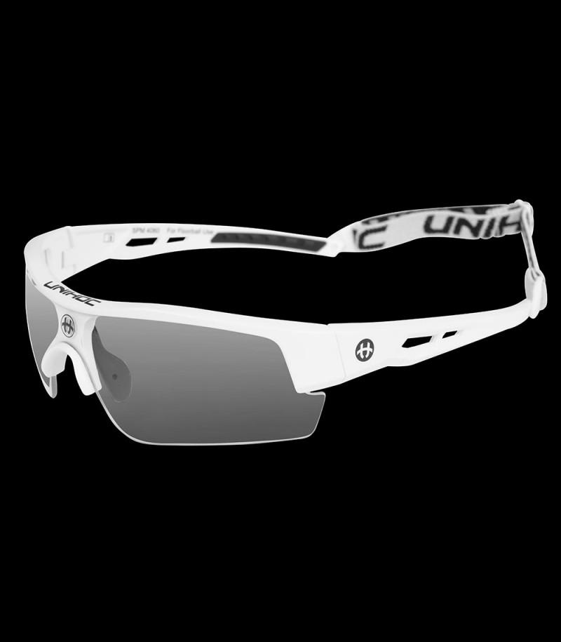 unihoc lunettes de sport Victory senior blanc