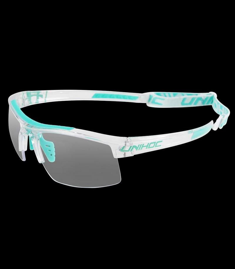 unihoc lunettes de sport Energy junior crystal/turquoise