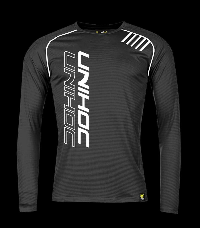 unihoc Warm-up Longsleeve Shirt noir