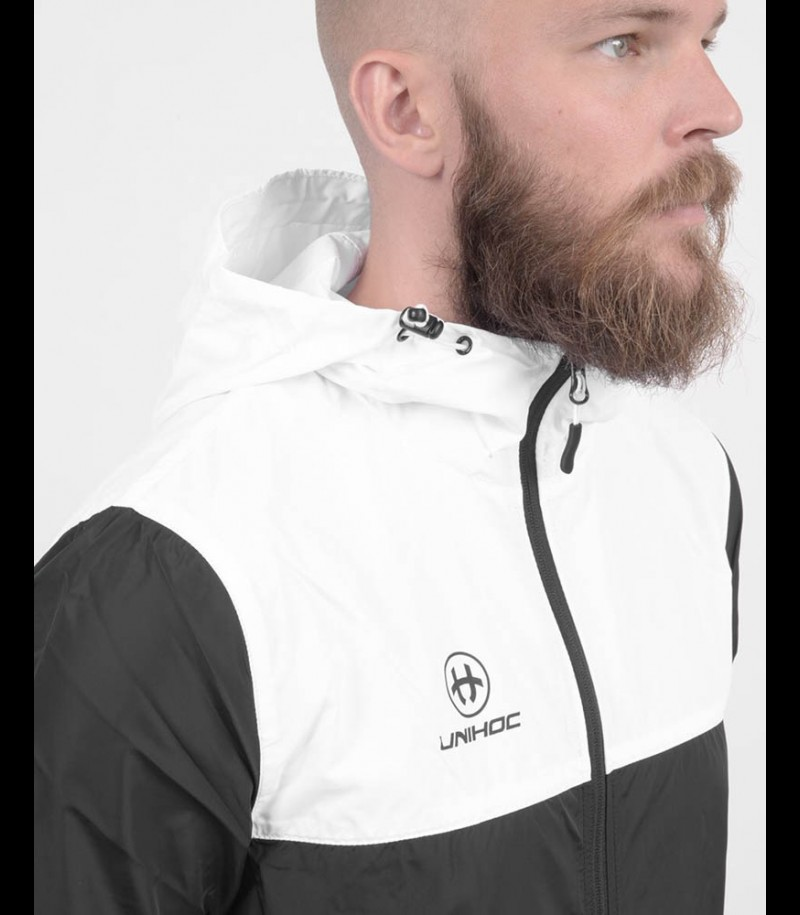unihoc Technic Windrunner black/white