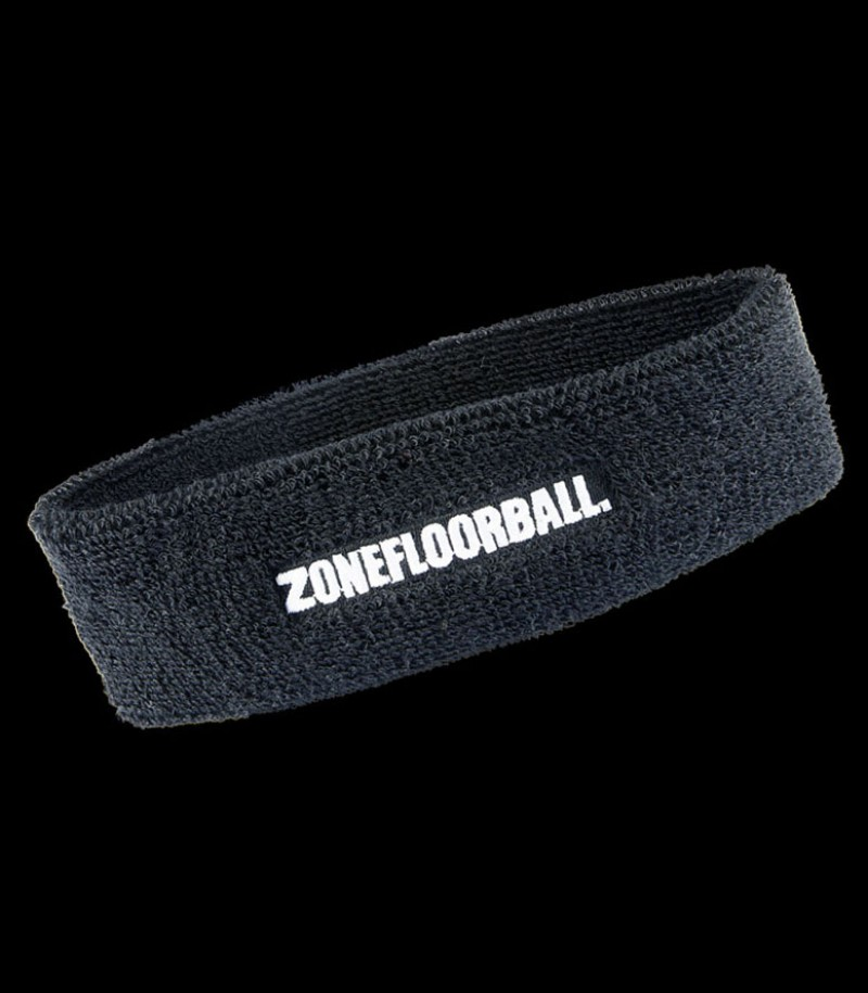 Zone Headband Retro noir