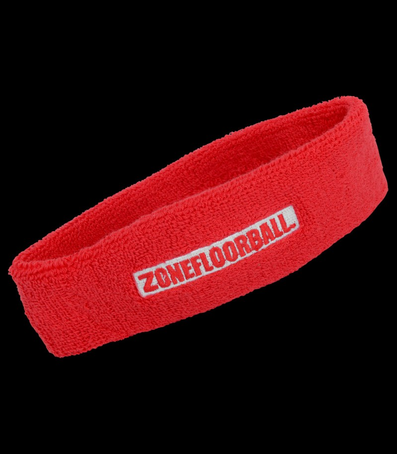 Zone Headband Retro rouge
