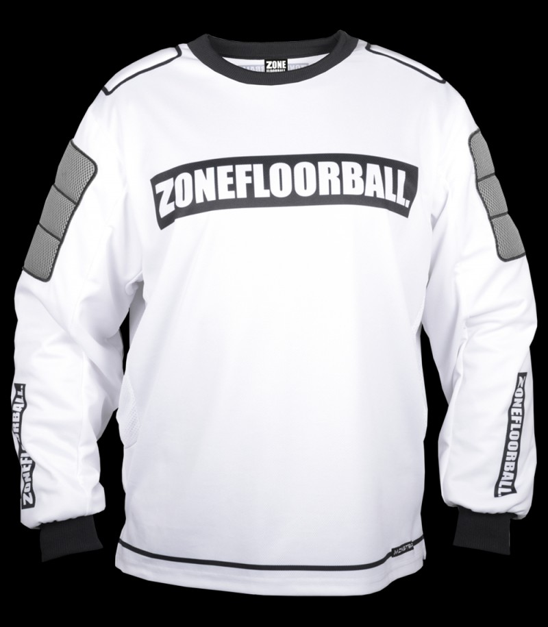Zone pull-over de gardien Monster Junior blanc/noir