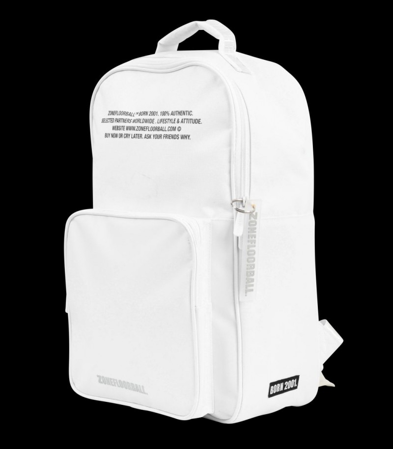 Zone Backpack BRILLIANT+ white/silver