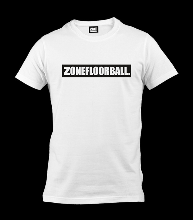 Zone T-Shirt Partymachine white