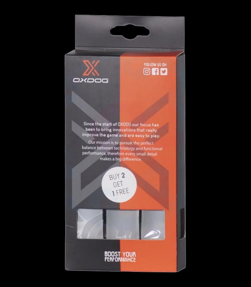 OXDOG Grip Boost gris (3-Pack)