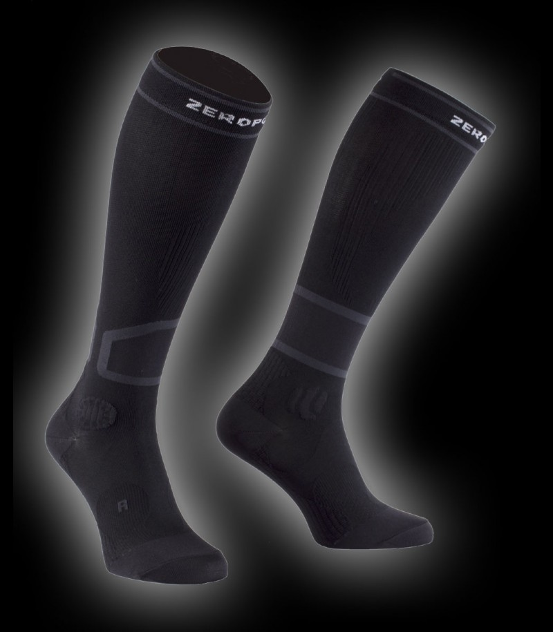 Zero Point Intense Compression Socks Men 2.0 black